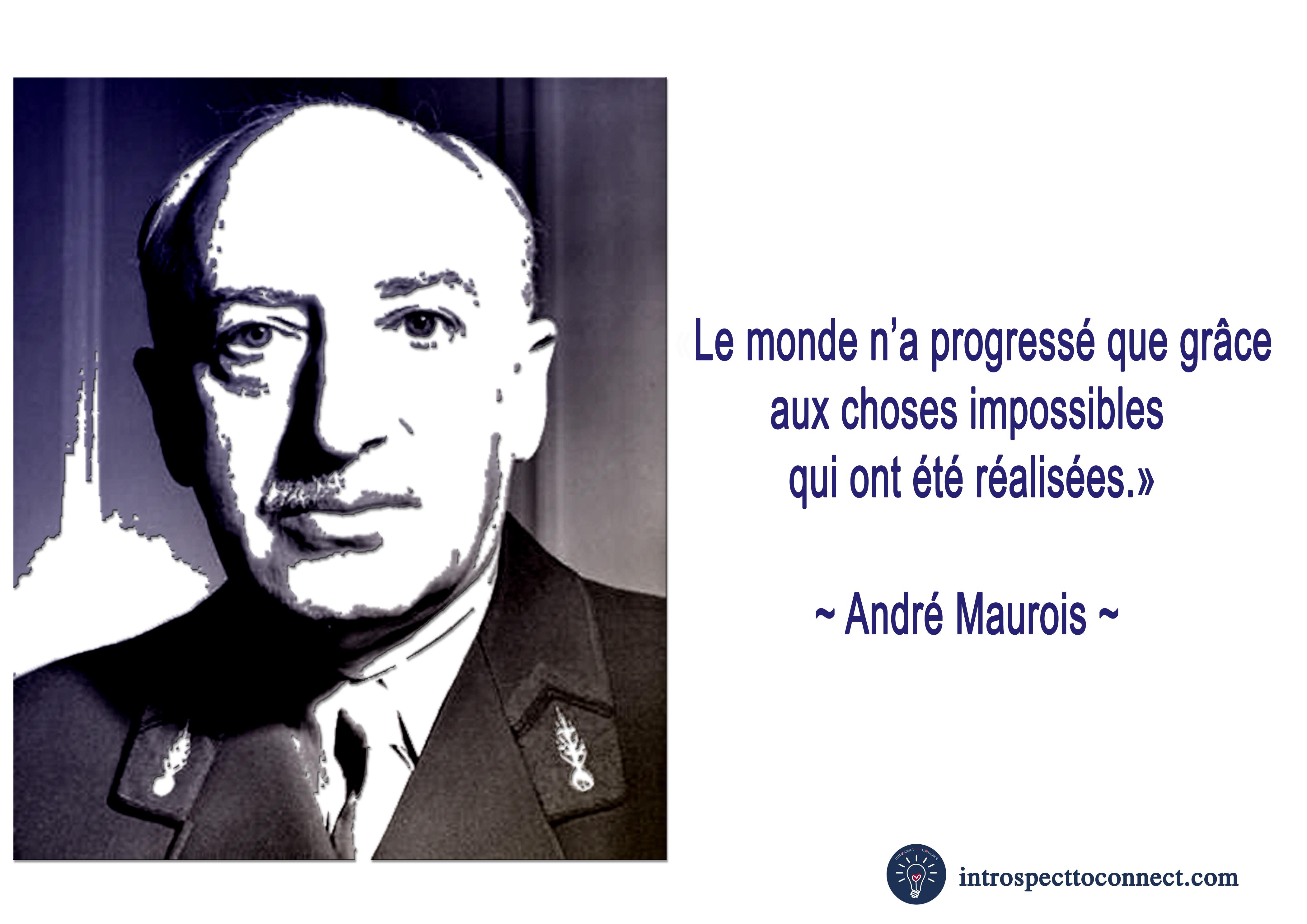 André maurois citation copie