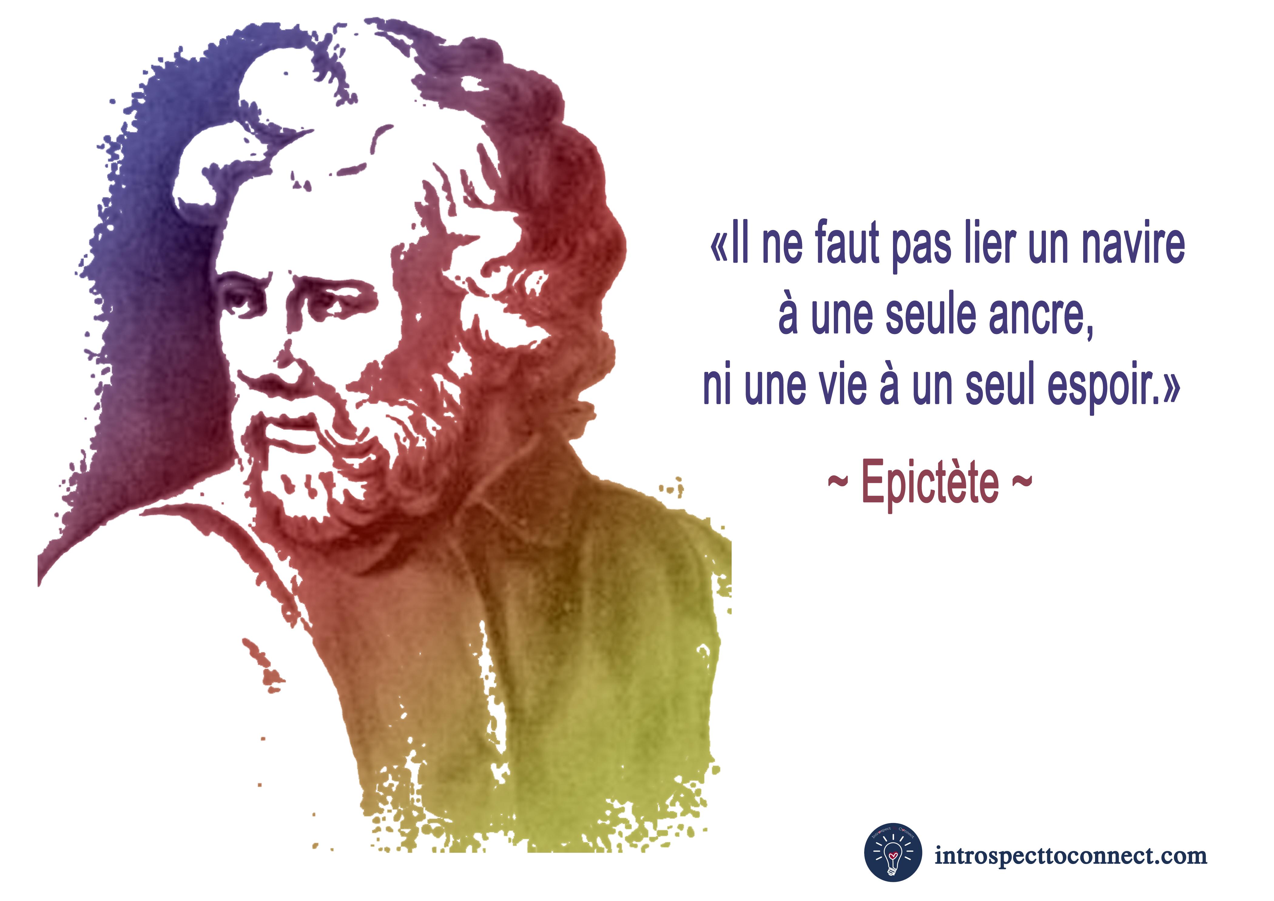 Epictète citation copie